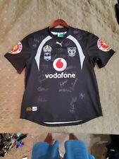 Autographed 2008 New Zealand Warriors Centenary Jersey