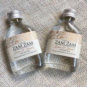 Zam Zam Bottles - FULLY PERSONALISED (Pack of 50 bottles)