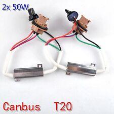 50W T20 W21W 7440 single filament LED Canbus Bulb Load Resistors Error Canceller