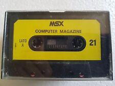 Msx MSX Computer Magazine n.21