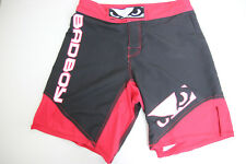 Bad Boy Mens Legacy Fight Shorts Ii 2 Size Small Red Black