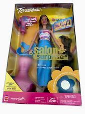 Barbie Vintage 2001 TERESA SALON SURPRISE Playset, W/Hair blower. NIB