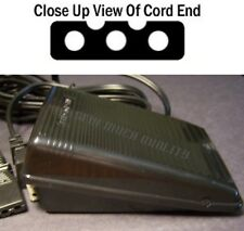 FOOT CONTROL PEDAL W/ Cord JC Penny 6936 Montgomery Wards 1947 Nelco 4102F +