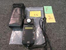 Minolta Flash Meter III 3 Camera Photography Pro Studio Gage Light Meter