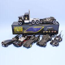7 pcs/lot 1:64 The Dark Knight Batman Car toys model Alloy Diecast PVC Vehicles