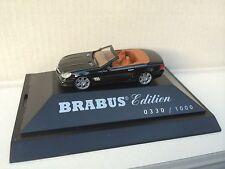 "Herpa Mercedes-Benz SL ""BRABUS V12 Roadster"" Limited Edition Werbemodell H0 1:87"