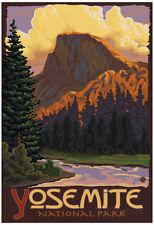 Half Dome, Yosemite National Park, California Poster Print, 13x19