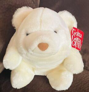 "Gund ""Snuffles"" White Polar Bear Stuffed Plush - 11"""