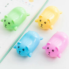 Lot 3pcs Kawaii Cute Bear Pencil Sharpeners Cartoon Stationery School  New.