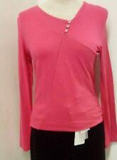 camiseta mujer massana manga larga Talla M NUEVA fuxia ropa shirt woman REF. 6