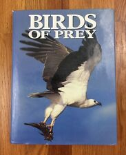 Vintage Birds Of Prey 1990 Hard Cover Book Colored Bird Pictures