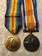 The Great War For Civilization Medal 1914-1919 & George V 1914-1918 With Ribbons