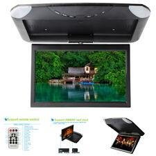 "10.1"" Hd 1080P Car Flip Down Mp5 Monitor Overhead Multimedia Video Player Fm Usb"