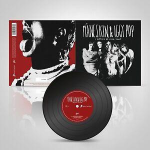 """Maneskin Iggy Pop I wanna be your slave 7"""" 45 vinile edizione limitata numerato"""