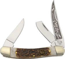 New Hen & Rooster Folding Pocket Knife Little Cuttin Horse HR283DSLCUT