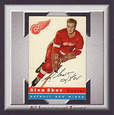 1954 Topps GLEN SKOV #16 EX+ *awesome hockey card for your set* SD