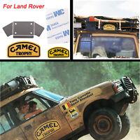 Metal LOGO Stickers Badge Camel Trophy For Land Rover Defender TRX4 D90 D110 RC