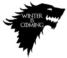 WINTER IS COMING STARK Funny Caravan GAME OF THRONES Novelty Vinyl Decal Sticker