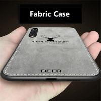 For Xiaomi Mi 9 SE 8 Pro A2 Lite F1 Luxury Slim Fabric Texture Hybrid Case Cover