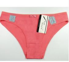 Ladies Plain Color Cotton Panties 89045 (Pink) - Medium