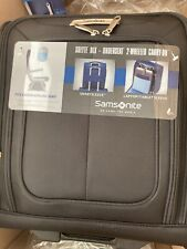 "Samsonite - SoLyte DLX 17.5"" Wheeled Upright Suitcase - Black- New"