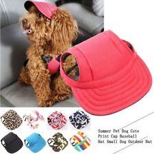 Pet Dog Sports Hat Pet Chien Oxford Tissu Chapeau De Sport Casquette de baseball avec oreille