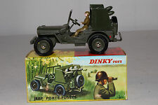 1960's French Dinky #828 Rocket Carrier Jeep, Nice with Original Box, Lot #9