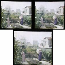 LUMIERE Photographie AUTOCHROME STEREO vers 1900- 1920   / 26