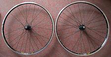 "Shimano Deore XT T780 Mavic A719 Set Ruote Bicicletta 28 "" Trekking Cross Nero"