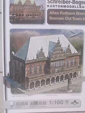 Altes Rathaus Bremen Kartonbausatz *NEU* Schreiber- Bastelbogen