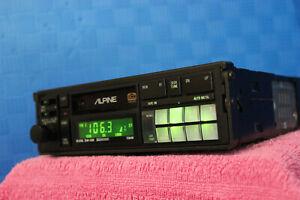 Alpine 7284M Old School Audiophile Tuner/Cassette Deck Ice Cube Rare
