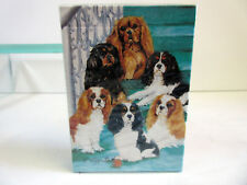 New Cavalier King Charles Spaniel Poker Playing Card Set of Cards by Ruth Kcs-Pc