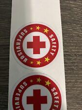 Safety Supervisor - sticker helmet label hard hat labor iron worker industry