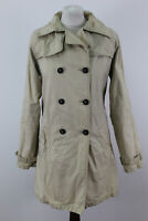 JACK WILLS Double Breasted Mac Trench Coat size Uk 12
