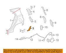 Scion TOYOTA OEM 08-14 xD-Quarter Panel Protector Left 5874252250