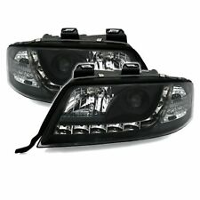 2 PHARES DEVIL EYES AUDI A6 C5 4B BERLINE AVANT LED NOIR 05/1997-05/2001