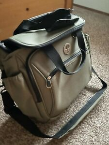 """Travel Pro 15"""" Walkabout Lite Rolling Carry-On Olive Green Moss"""
