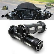 """CNC 1"""" Motorcycle Handlebar Grips for Harley Sportster Dyna Softail Touring ST"""
