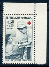 STAMP / TIMBRE FRANCE NEUF N° 1509a ** CROIX ROUGE INFIRMIERE / ISSUS DE CARNET