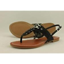 Sandali e scarpe cinturini alla caviglia G by GUESS in pelle sintetica per il mare da donna