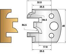 Fers de toupie hauteur 40 - Profil et contre-profil n° 96