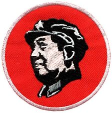 Chairman Mao chinese red communist embroidered applique iron-on patch G-69