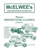 McElwee's Collector's Guide #11 PREWAR PRESSED STEEL TRUCK S