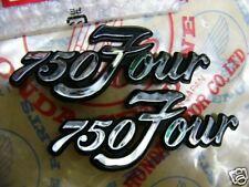 Honda CB 750 Four K 1 / K 2 Embleme Seitendeckel neu