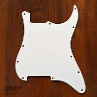 Pickguard pour Stratocaster Blanc 3ply 11H NoPickupsPots Holes Strat White PG06W