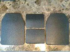 Body Armor Curved 10x13.6 & 6x8 Level 3 Line-X Mil-Spec Certified Plate Spall