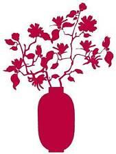 STICKER décoration mural Vase fleur Magnolias Coming B Fushia Prix Neuf 49,90 €