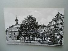 Ansichtskarte Rastatt Partie beim Rathaus 50/60er?