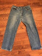 Vintage Made In USA Levis 501 Denim Jeans - 36 X 29