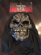Skeleton halloween costume mask Plague Skull Grim Reaper